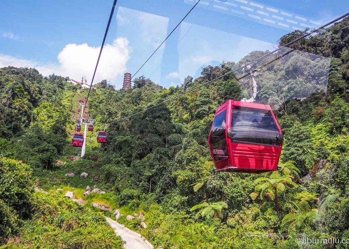 awana skyway - kapan lagi naik gondola di antara perbukitan