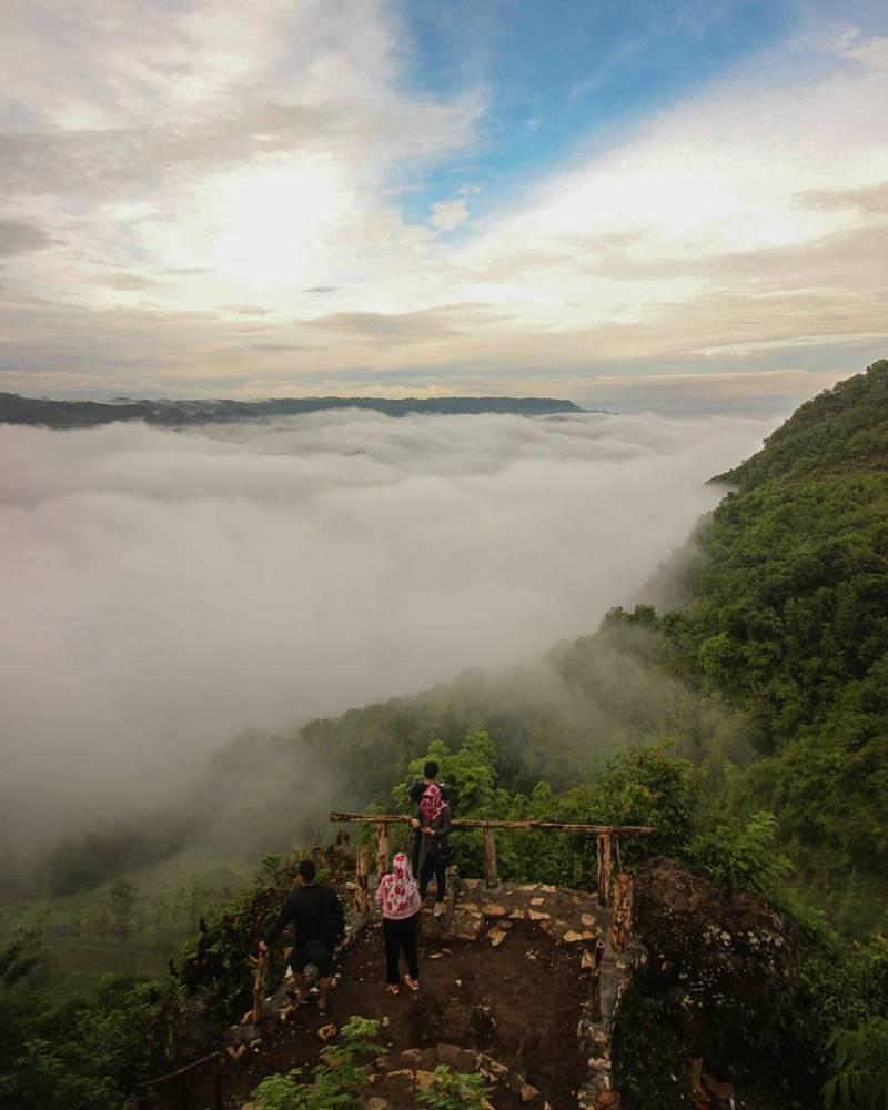 Jurang Tembelan salah satu tempat wisata instagramable di Jogja via @gunawanwicaksana28