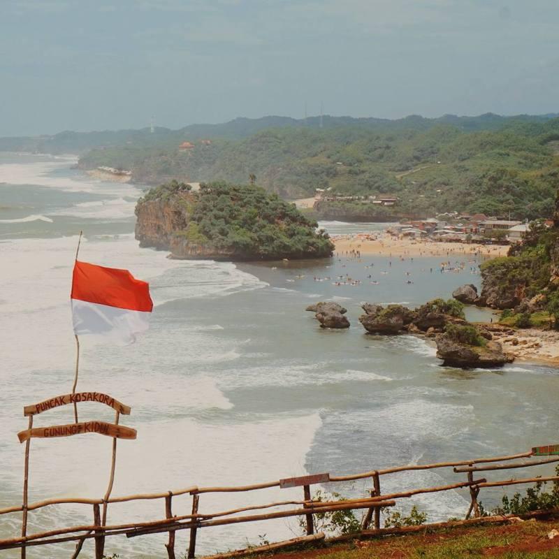 Orang mengenal tempat ini sebagai Bukit Kosakora atau Puncak Kosakora. Pun dua nama tersebut adalah sama via @marushanabira