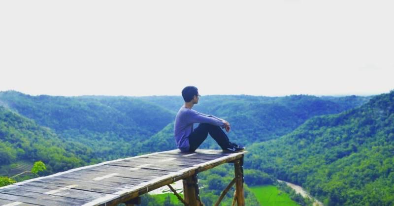 Sebuah tempat liburan sempurna untuk menenangkan diri bukan via IG @kevinali33