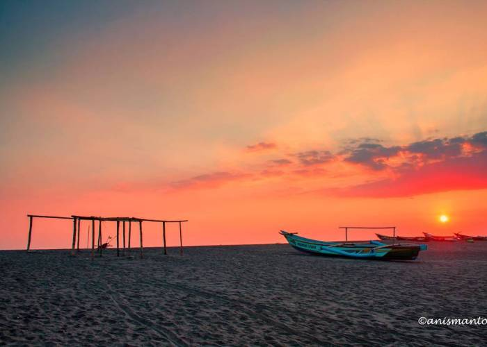 Liburan Sambil Belajar Di Pantai Samas Bantul! Sudah ada yang pernah liburan ke Pantai di Yogyakarta ini! via IG @anismanto