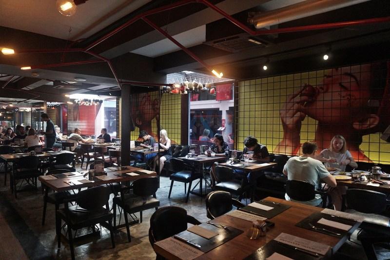 Area Breakfast Mya Bar Restaurant