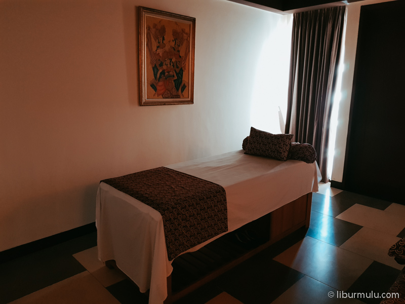 Fasilitas SPA hotel!
