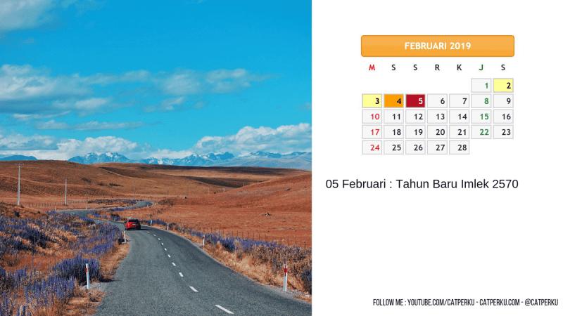Kalender Februari 2019