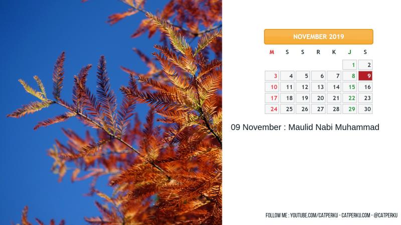 Kalender November2019