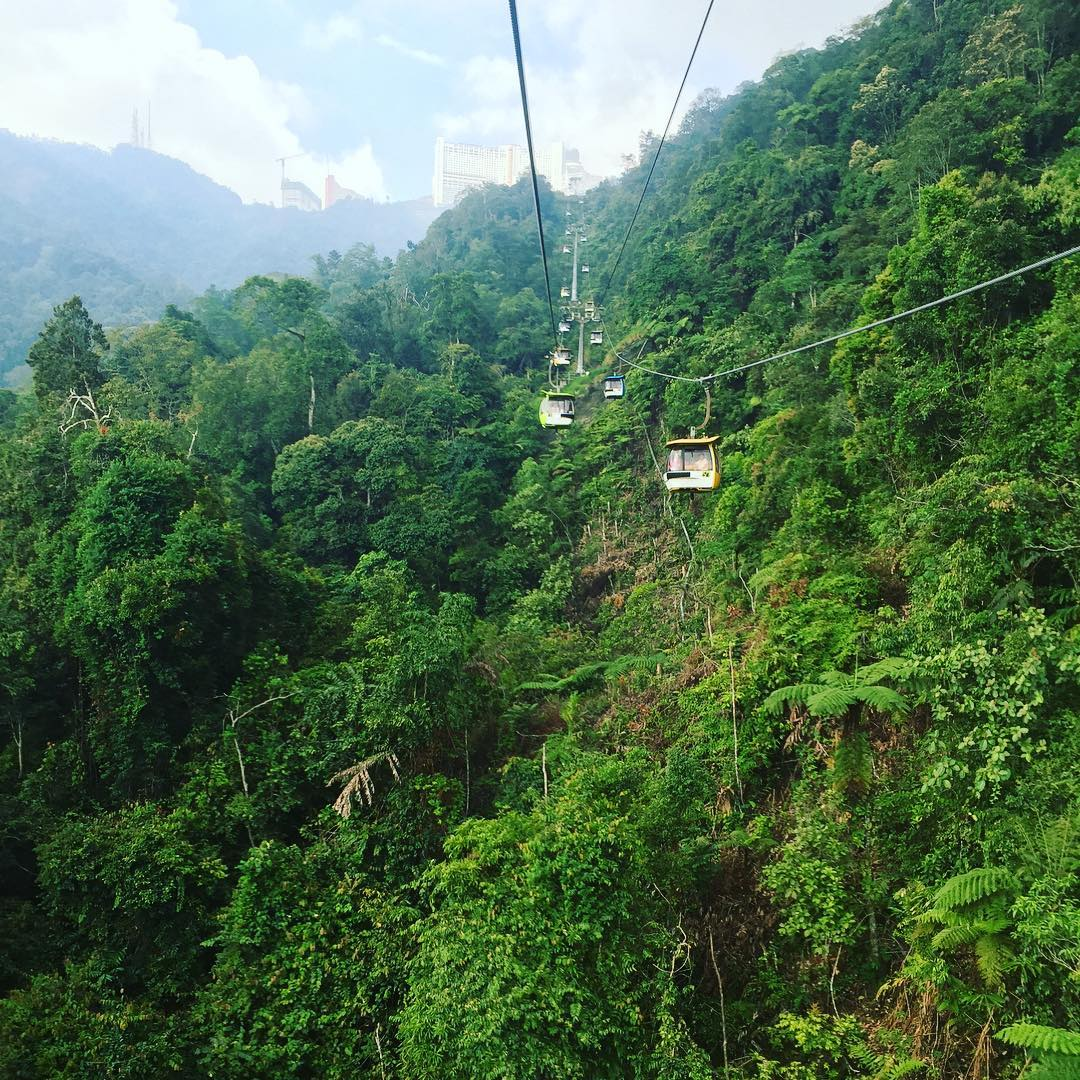 Genting Skyways, Atraksi favorit di genting highlands