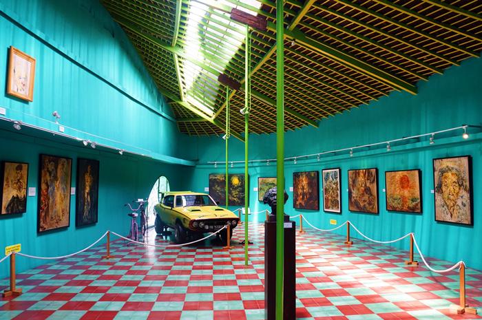 Museum Affandi, salah satu museum menarik di Yogyakarta.