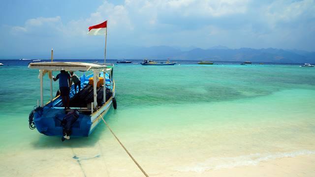 Gili Trawangan bisa menggoda siapapun yang ingin bersantai di pulau.