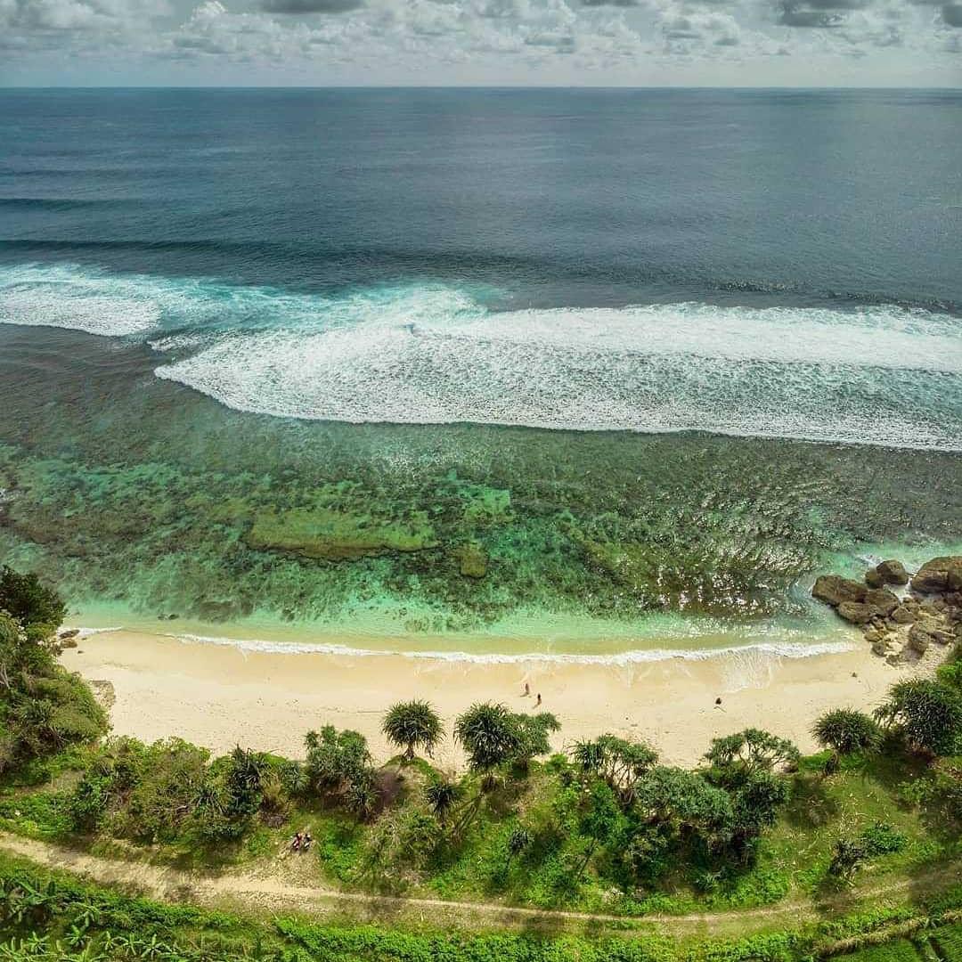 Pantai di Malang yang belum terjamah, Pantai Wedi Klopo.