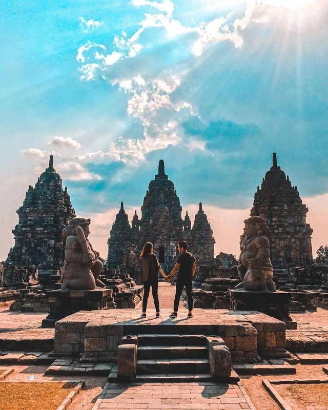 Foto Candi Prambanan
