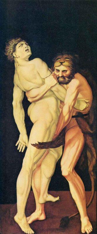 هرقل و أنتيوس ، هانس بالدونغ