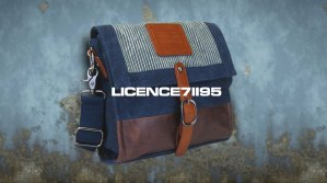 LICENCE 71195 Jumper Canvas M Shoulder Bag