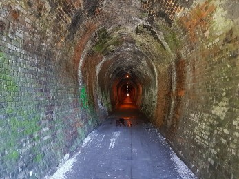 1.1kms of tunnel