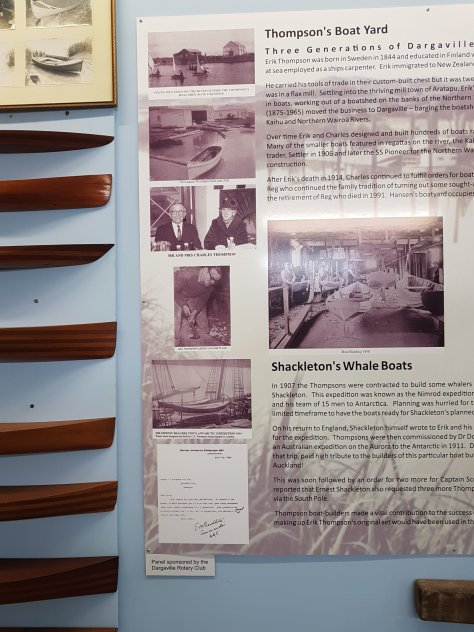 The story of Thompson's boat yard and the building of Shackleton's whale boats