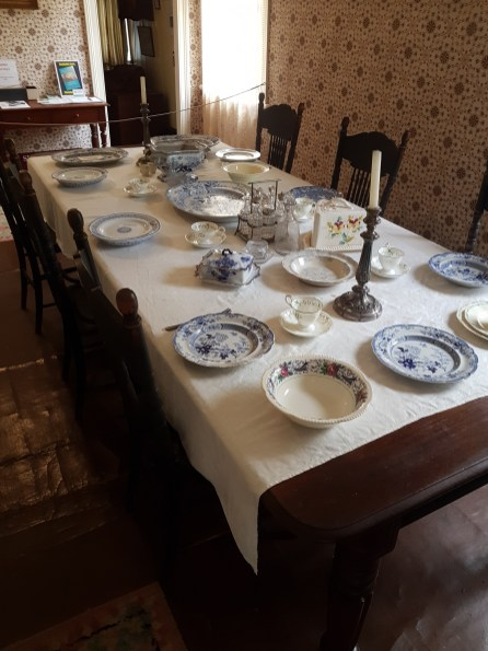 The formal dining table
