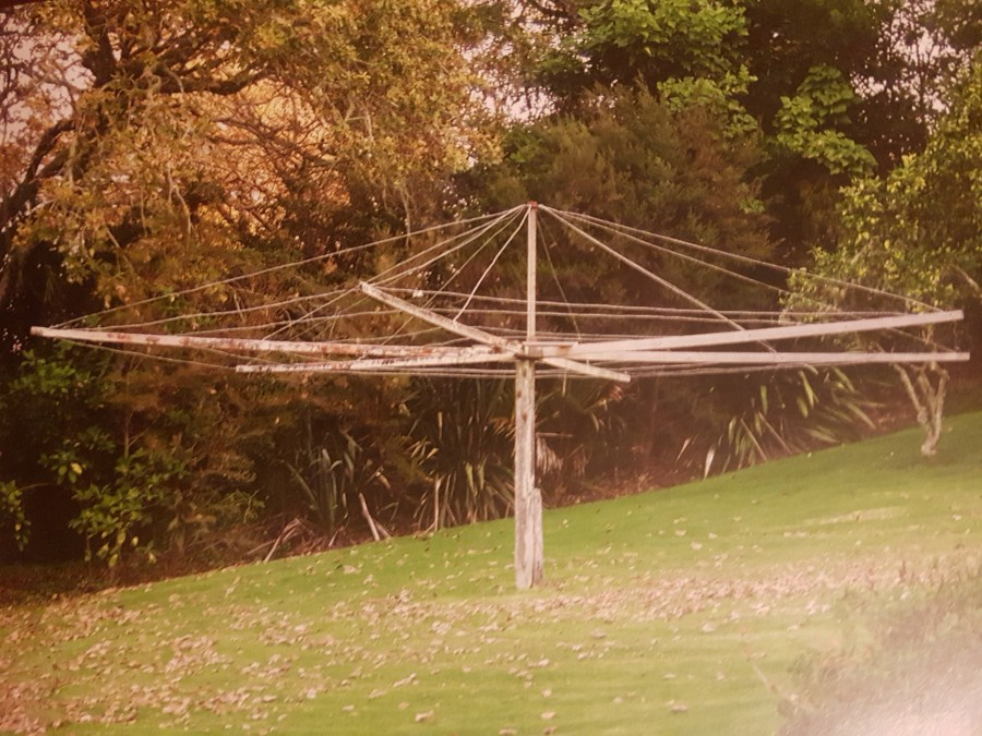 The original Kauri clothesline