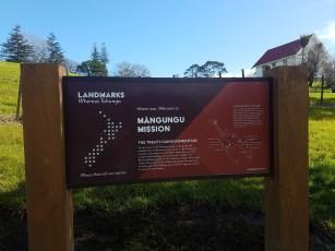 Landmarks notice board
