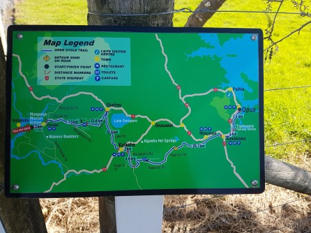 Cycle Trail Map