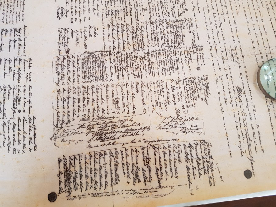 A copy of the treaty