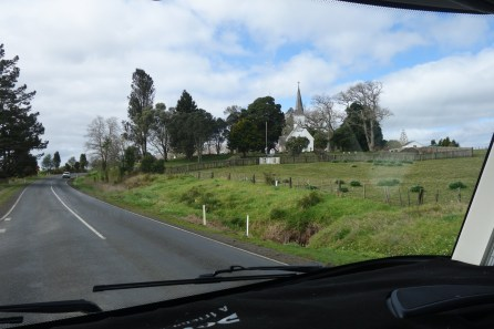 The view from the road