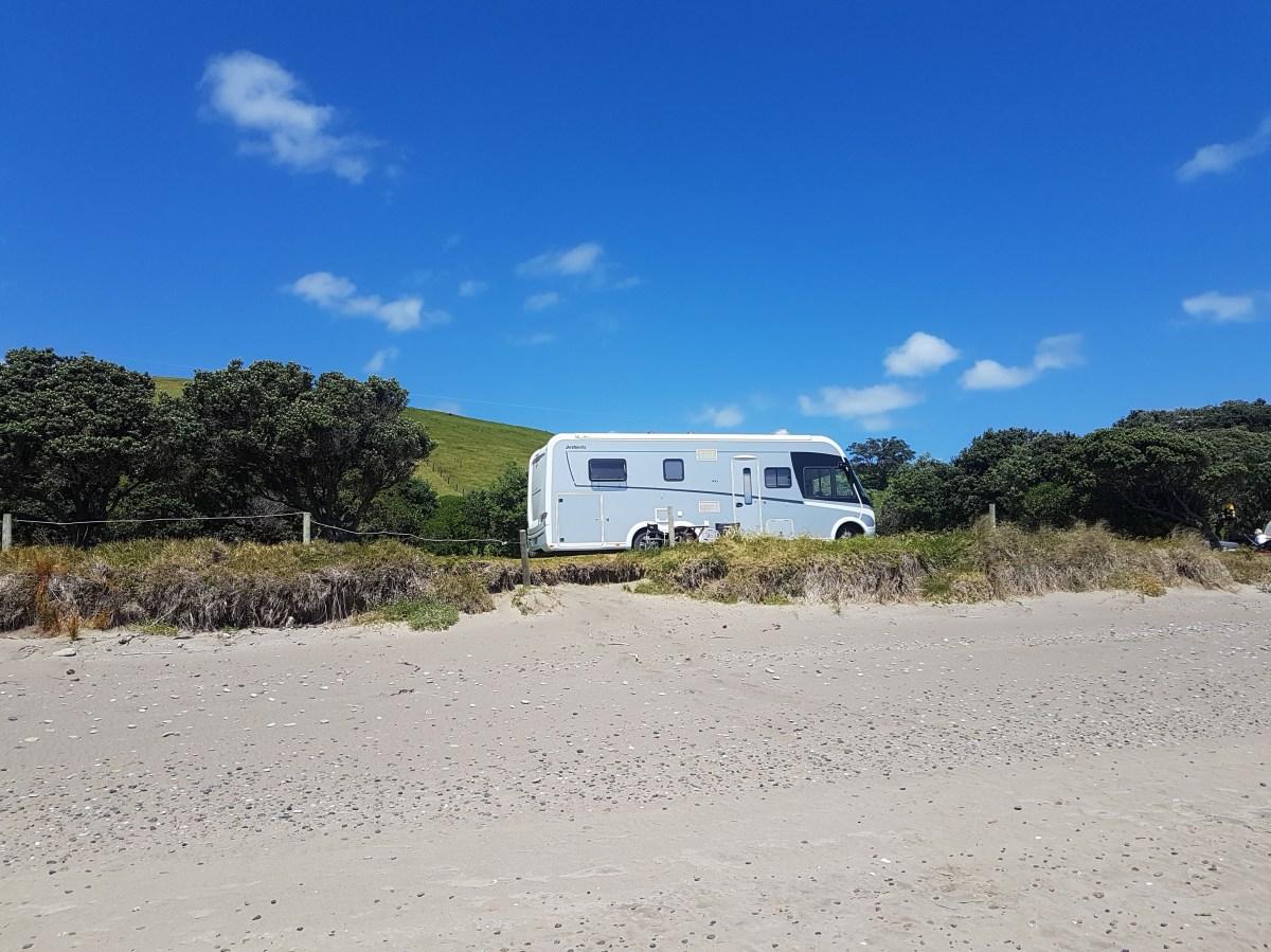 Camping at Port Jackson