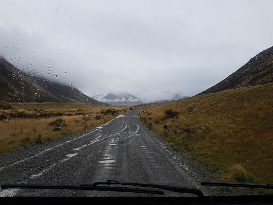 Road to Lake Colleridge