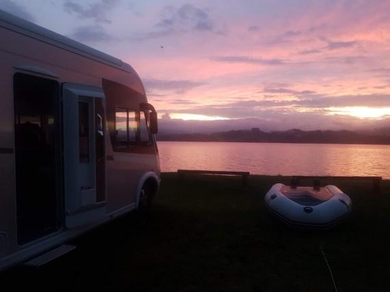 Sunset Puriri Bay