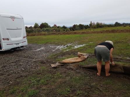 We got stuck