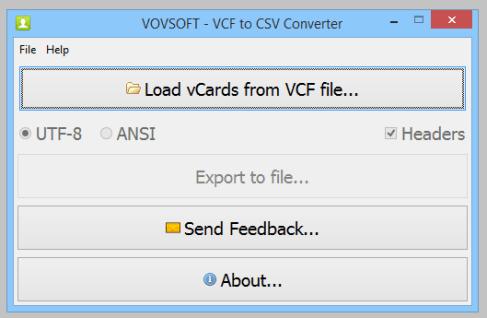 VovSoft VCF to CSV Converter 3.0 Full Crack [ Latest ]