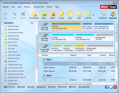 MiniTool Partition Wizard All Edition 2021 Crack Serial Key Download