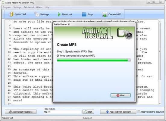 Audio Reader XL License Key