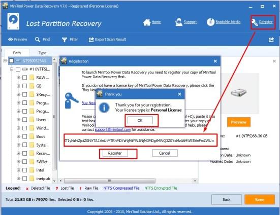 Mini Tool Power Data Recovery License Key1
