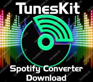 TunesKit Spotify Converter 2.1.0 Crack With Registration Key Free Download