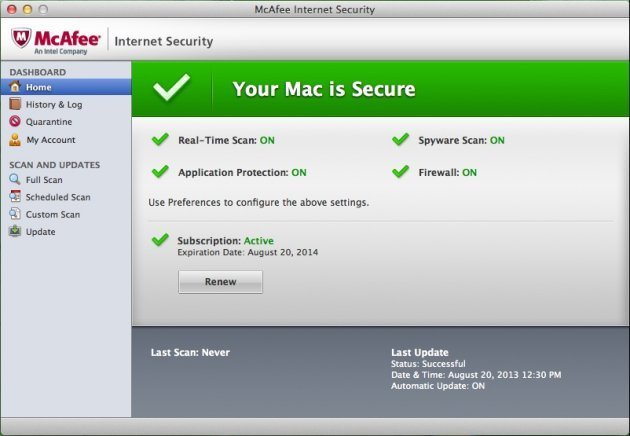 Image result for McAfee LiveSafe 16.0 R7