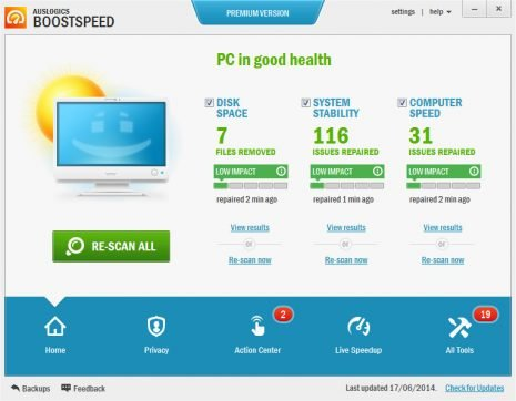 Auslogics BoostSpeed 11.5.0.1 Crack + Serial Key Free Download