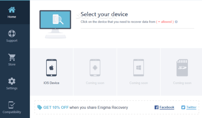 Enigma Recovery 1.7.0.0. License key With Crack 2019 {win + MAC}