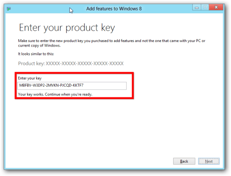 Windows 8 Activation Key 100% Working Product Keys