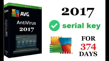 AVG 2017 License Key Free Download
