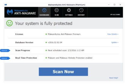 malwarebytes 3.3.1. license key february 2018