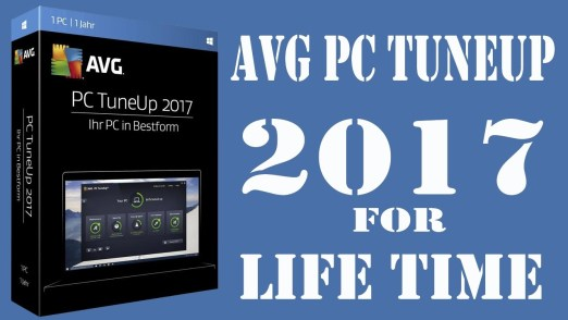 AVG PC TuneUp 2017 Serial Key