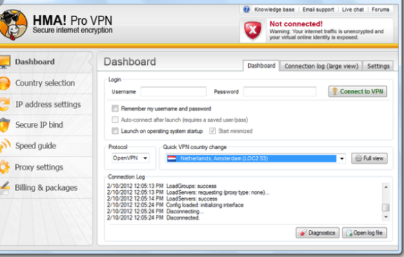 HMA Pro VPN Crack + License KEY Username & Password {2021}