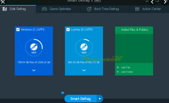 IObit Smart Defrag Pro 6.4.0.256 Crack With Activation KEY
