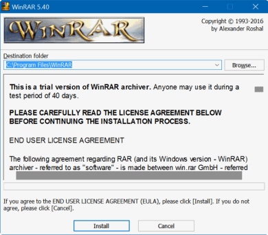 WinRAR Crack Torrent + License Key 2020 [32/64 Bit]