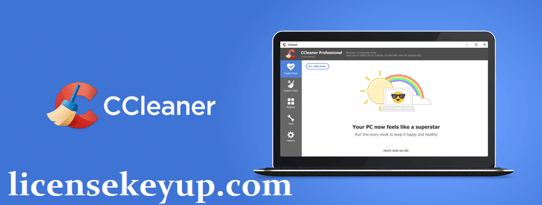 CCleaner Pro 5.77.8521 Crack + License Key 2021 Full Working