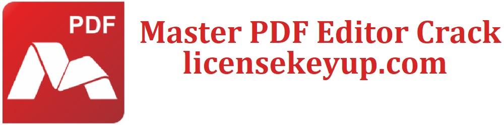 Master PDF Editor 5.7.91 Crack + Registration Code (Free) 2022