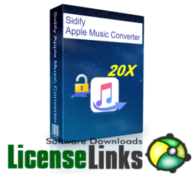 Sidify Music Converter 2.0.6 Crack plus Key 2020 Free Download