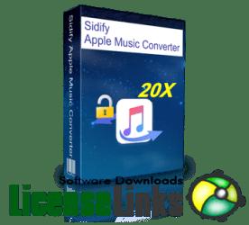 Sidify Music Converter 2.0.6 Crack plus Key 2020 Free Download