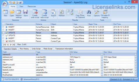 ApexSQL Log 2018 Crack + Activation Key Full Version
