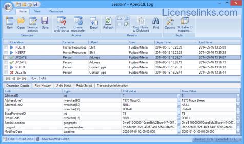ApexSQL Log 2018 Crack + Activation Key Full Version