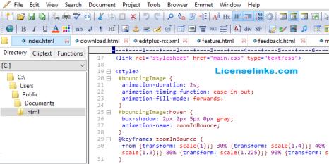 EditPlus 5.3 Crack Build 3229 with License Key Torrent 2020